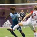 Whitecaps Duel To 1-1 Draw Against Earthquakes At BC Place