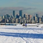 Vancouver Weather Forecast Calling For Snowfall After The Sunshine