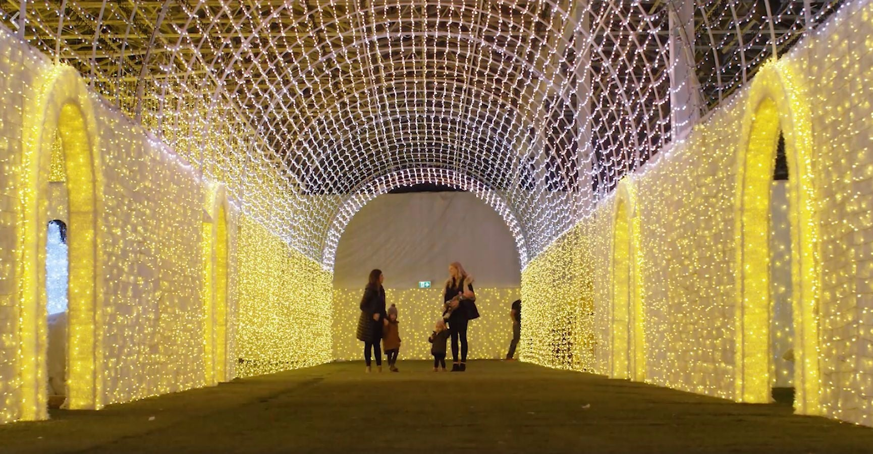 Glow Christmas Light Garden And Market Opens In Langley This Friday