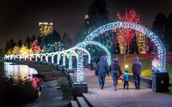 Metro Vancouver Christmas Lights
