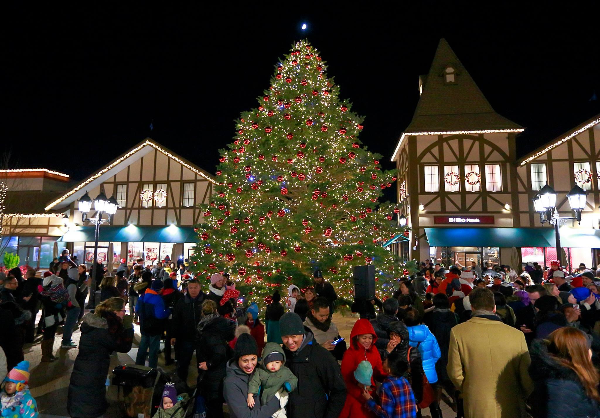 See A 45 Ft. Christmas Tree & 25,000 Lights Shine At