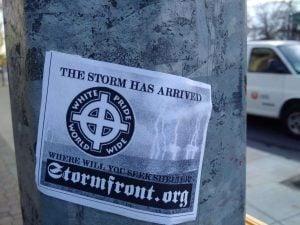 Neo-Nazi Poster