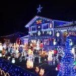 Wish Upon A Star Christmas Light Display 2018