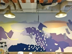 The Latest Scoop On Rain or Shine Ice Cream's Newest Mural