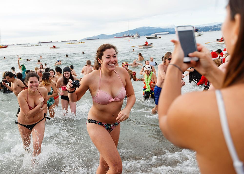 Polar Bear Swim