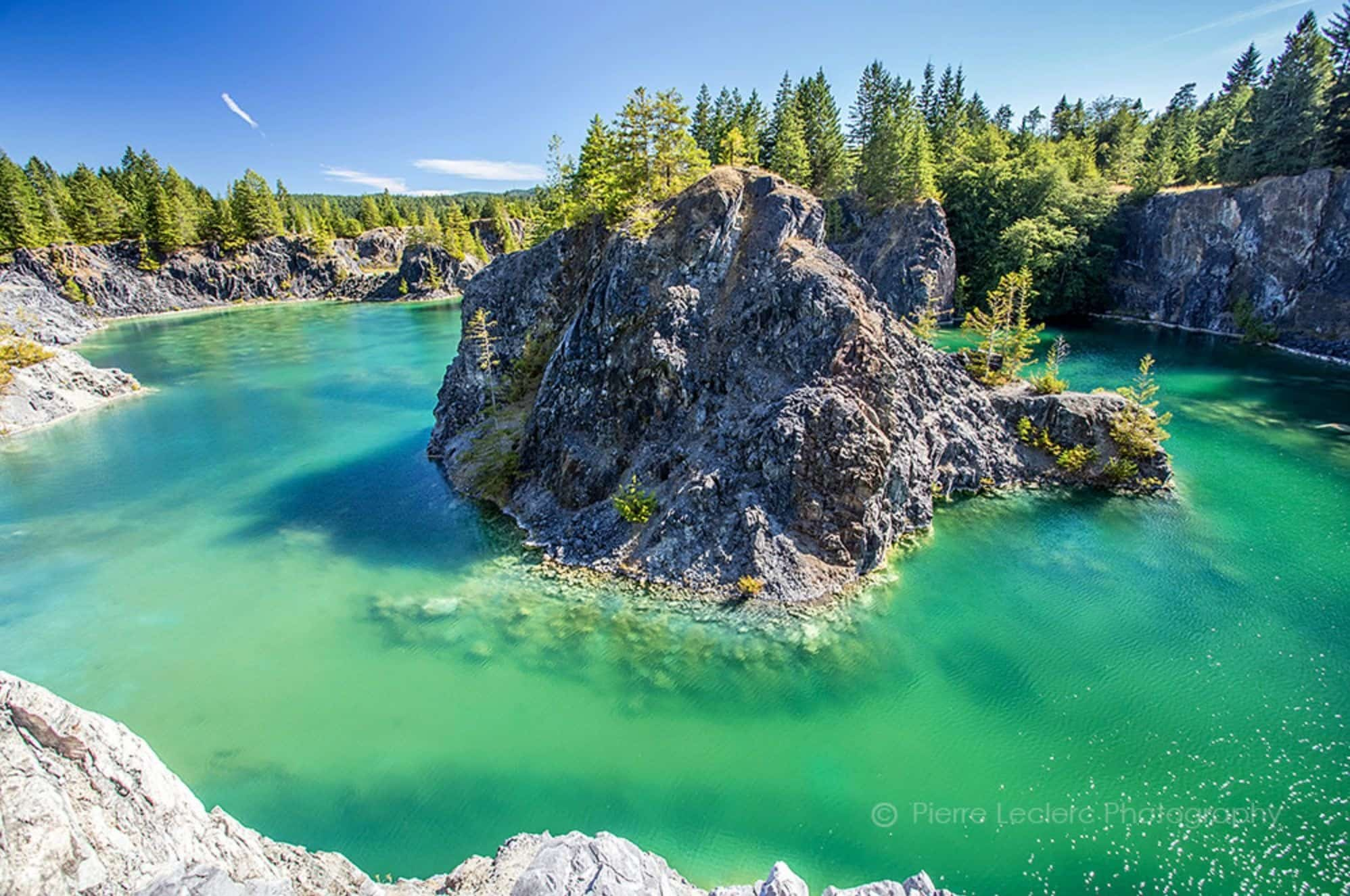 This Flooded Quarry Is A Truly Magical Hidden Gem in British