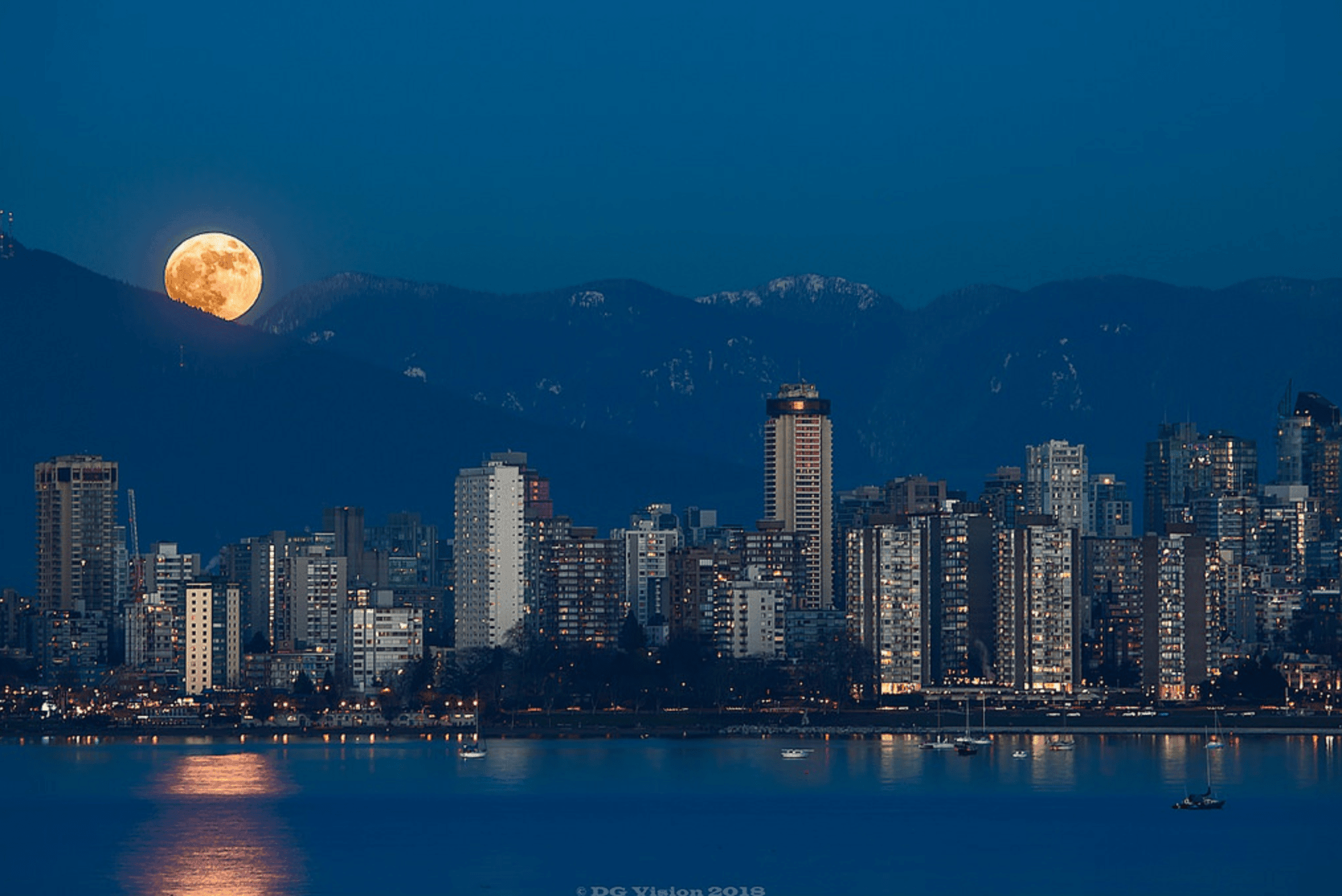 red moon july 2018 vancouver - photo #40