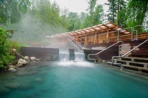 Hang With Moose While Relaxing In The 2nd Largest Hot Springs In Canada