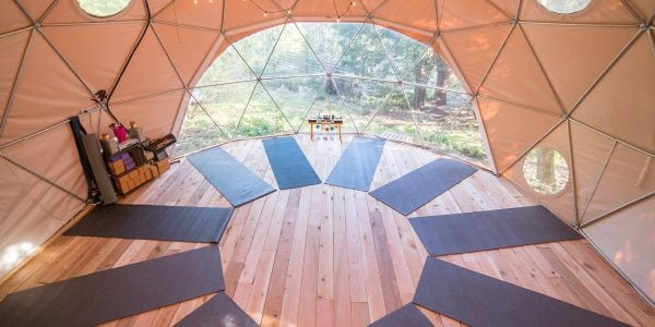 yoga dome / Accommodations in BC