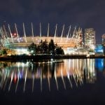 Northern Lights at BC Place Will Light Up With Special Display Tonight