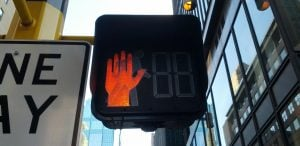 You Can Get A $109 Fine For Walking When A Crosswalk Sign Turns Red In BC