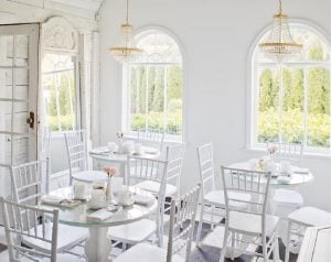 This Little White House Cafe In Fort Langley Will Transport You To Paris