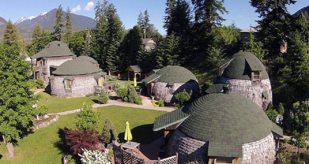 whimsical domes
