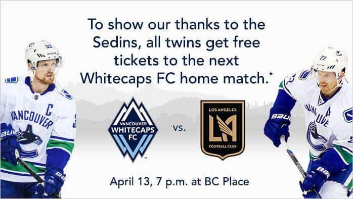 all twins score free whitecaps tickets at the next home match. Black Bedroom Furniture Sets. Home Design Ideas