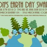 Earth Day SWAP MEET Coquitlam 2018