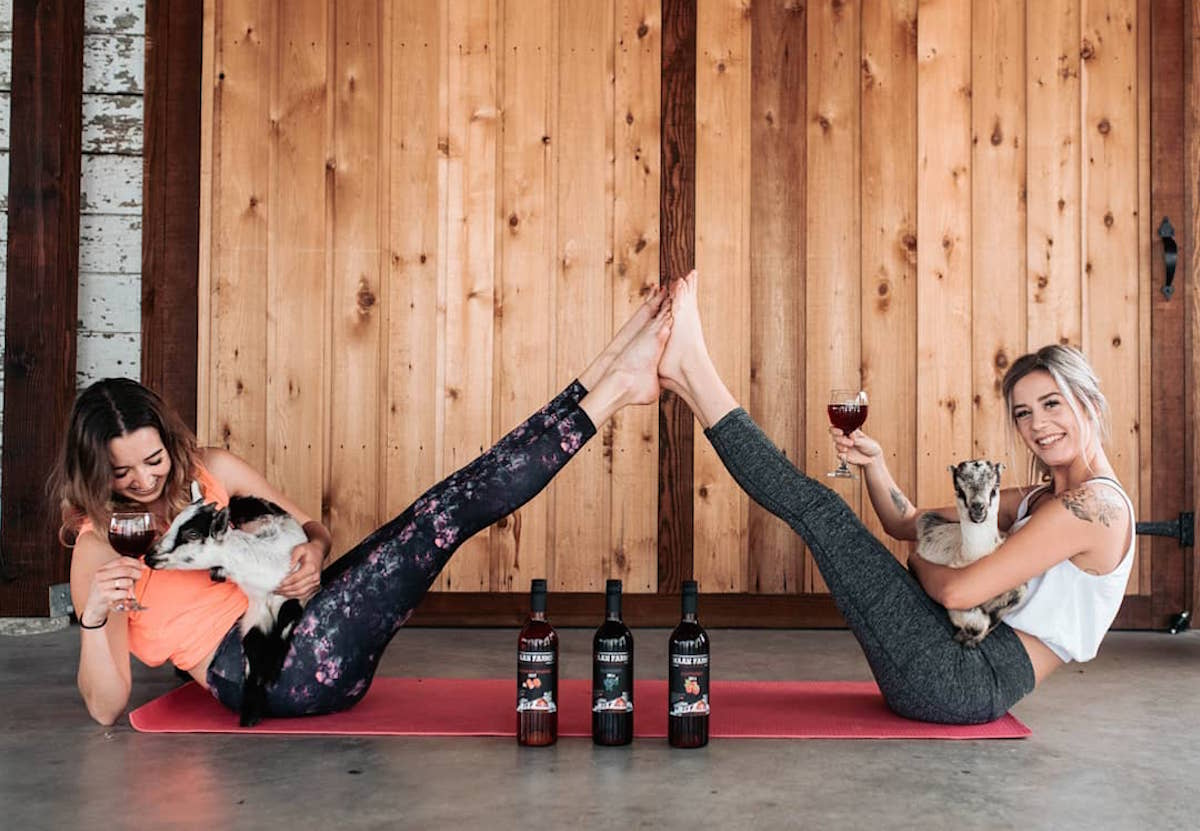 Say Namaste At Goat Yoga On This Picturesque Farm In The Fraser Valley