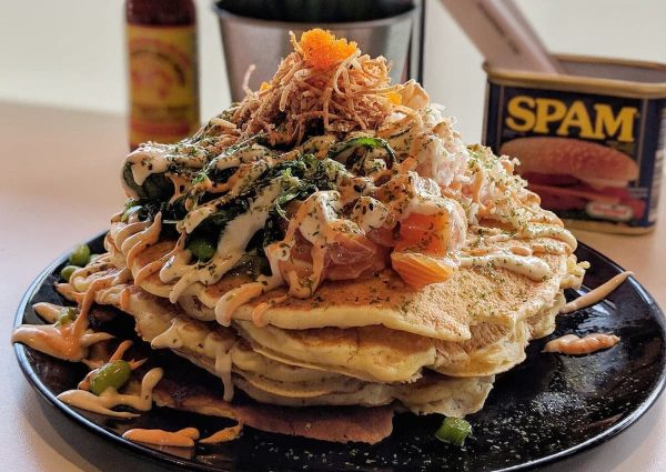 poke pancakes