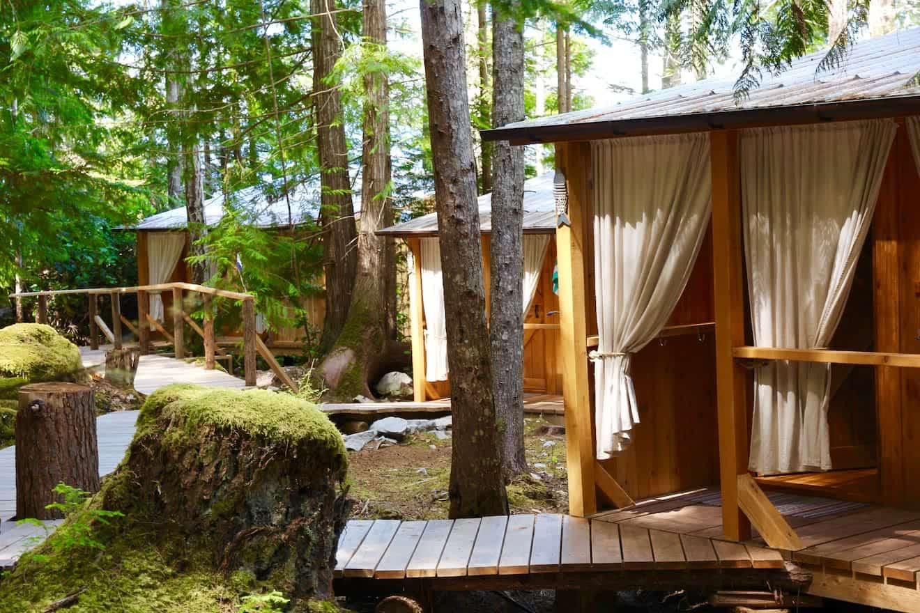 Cabana Desolation Eco Resort / Secret Places in bc