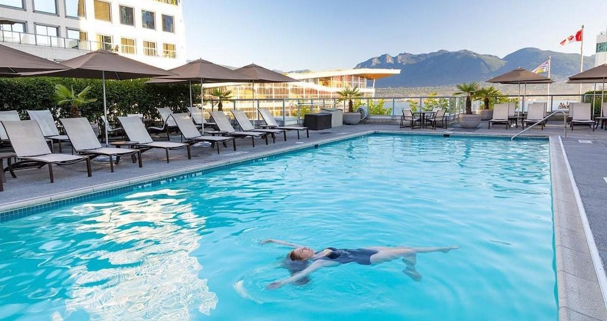 6 Of The Best Hotel Swimming Pools in Vancouver