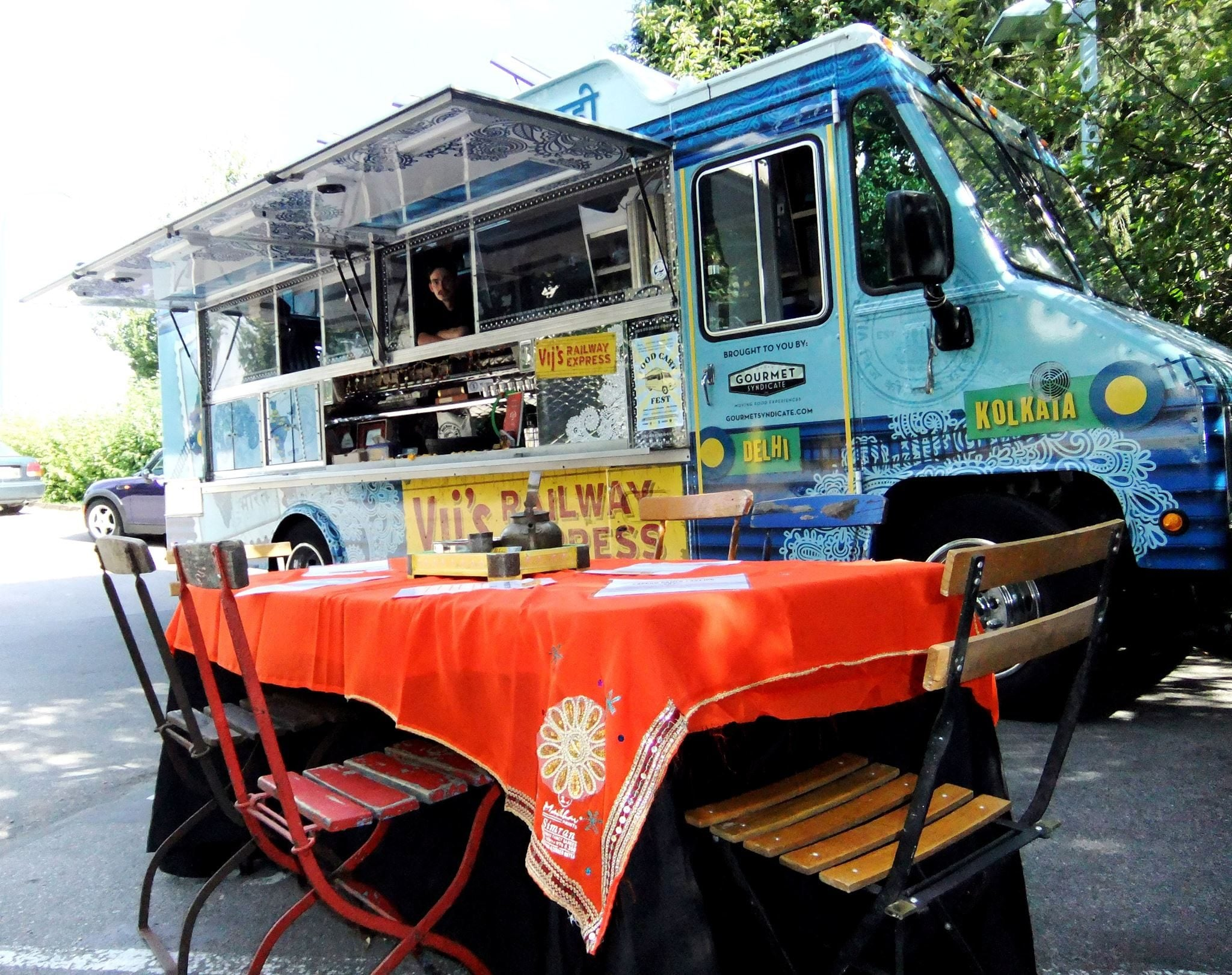 Pop-Up Food Trucks