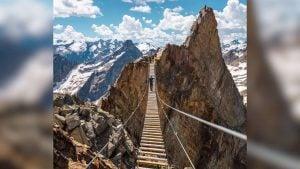Mount Nimbus Suspension Bridge