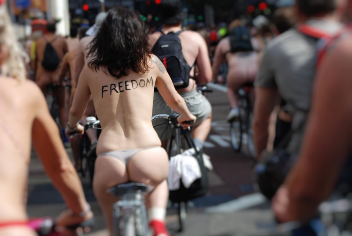 free the nipple bike ride