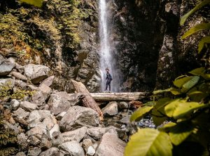 hiking trails with waterfall views