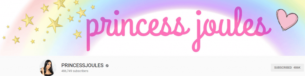 YouTube/princessjoules