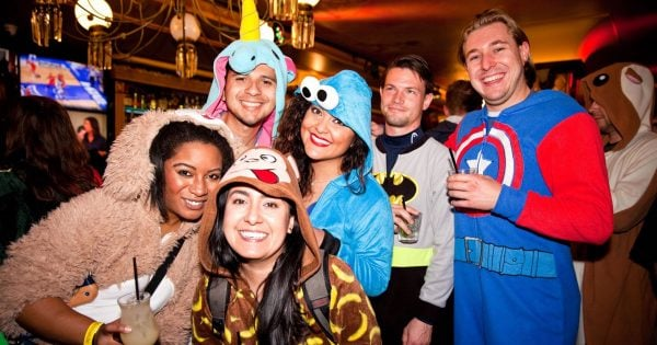 Onesie Bar Crawl