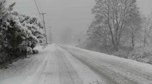BC snowfall warning