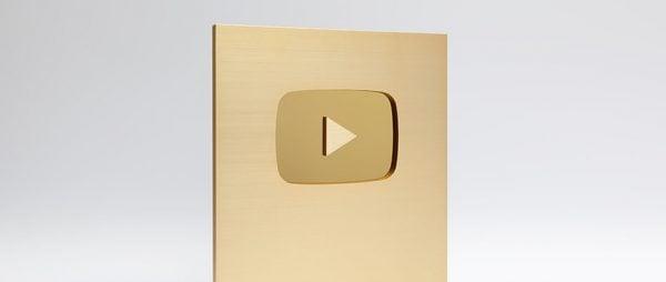 YouTube/Gold Creator Award