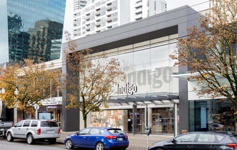 Indigo replaced Forever 21 on Robson, after being moved out of its old home on Howe Street.