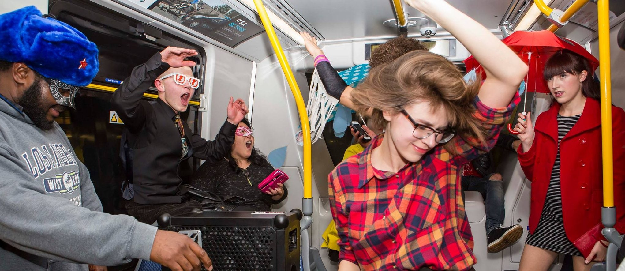 New Year's Eve Skytrain Party