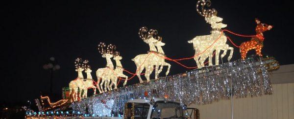 Surrey Santa Parade of Lights