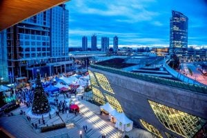 surrey tree lighting - christmas festival market