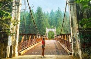 suspension bridges british columbia