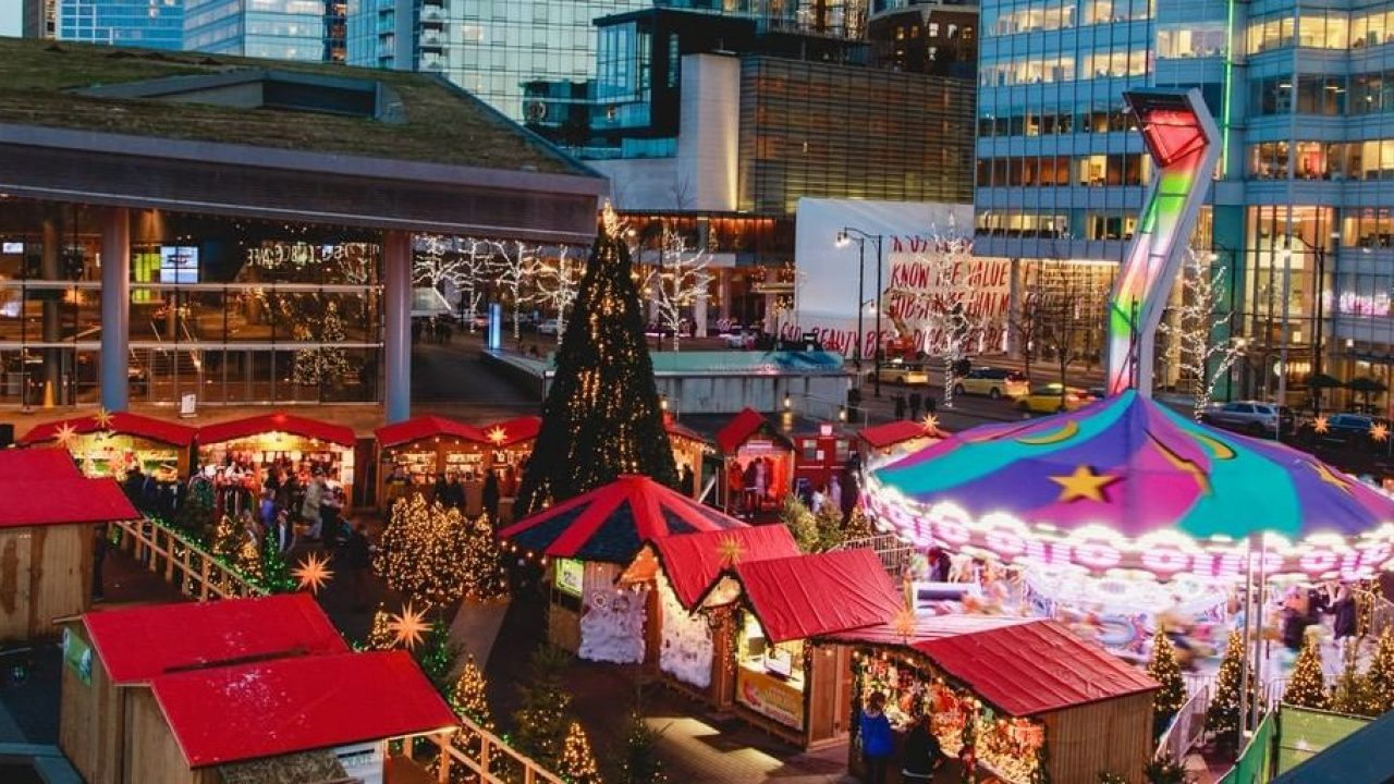 Vancouver Christmas.The Vancouver Christmas Market Closes In Less Than A Week