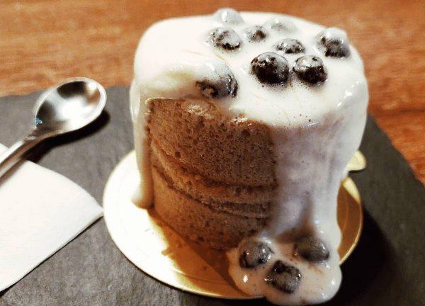 bubble tea lava cake