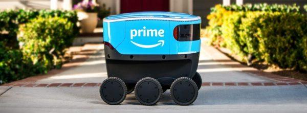 Amazon Delivery Robots