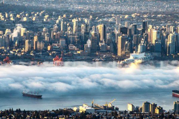 Metro Vancouver fog / Fog in Vancouver