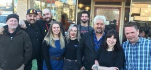 Guy Fieri Was Spotted At East Vancouver's Red Wagon Cafe (PHOTOS)