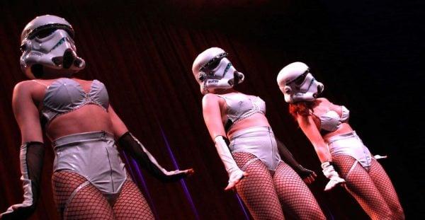 Nude Hope Sci-Fi Burlesque