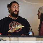 Jason Momoa Was Spotted At The Vancouver Canucks Game Last Night (VIDEO)