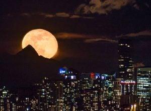 Super Snow Full Moon