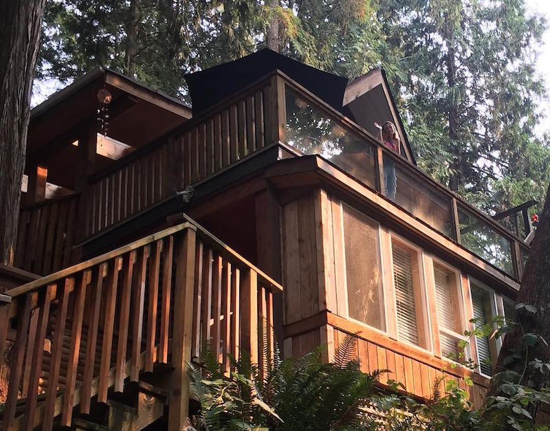 treehouses in bc