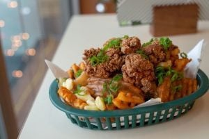 This Chicken & Waffle Poutine Will Send You Into A Food Coma