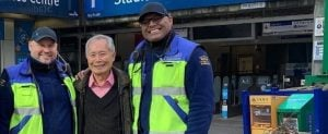 George Takei Was Spotted On The SkyTrain (PHOTO)
