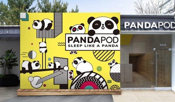 panda pod hotel
