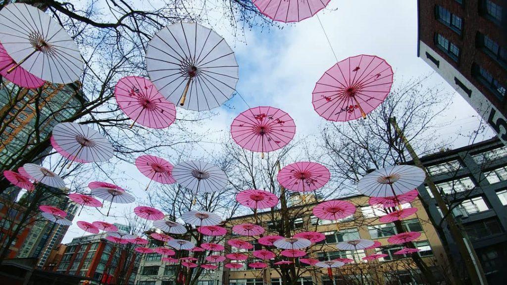 Umbrellas In Yaletown