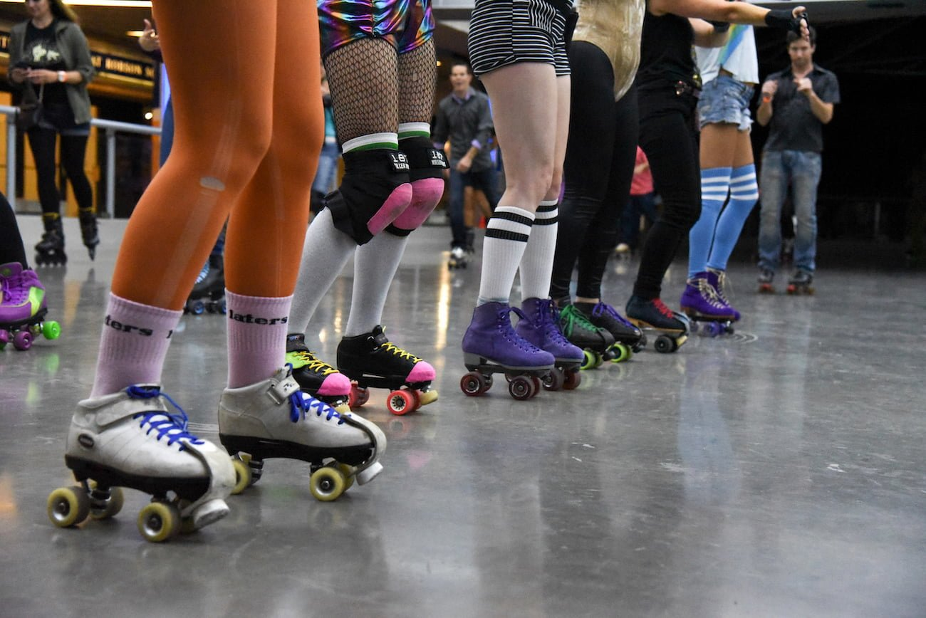 Pop-Up Roller Skate